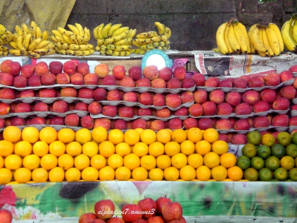 A way side fruit shop