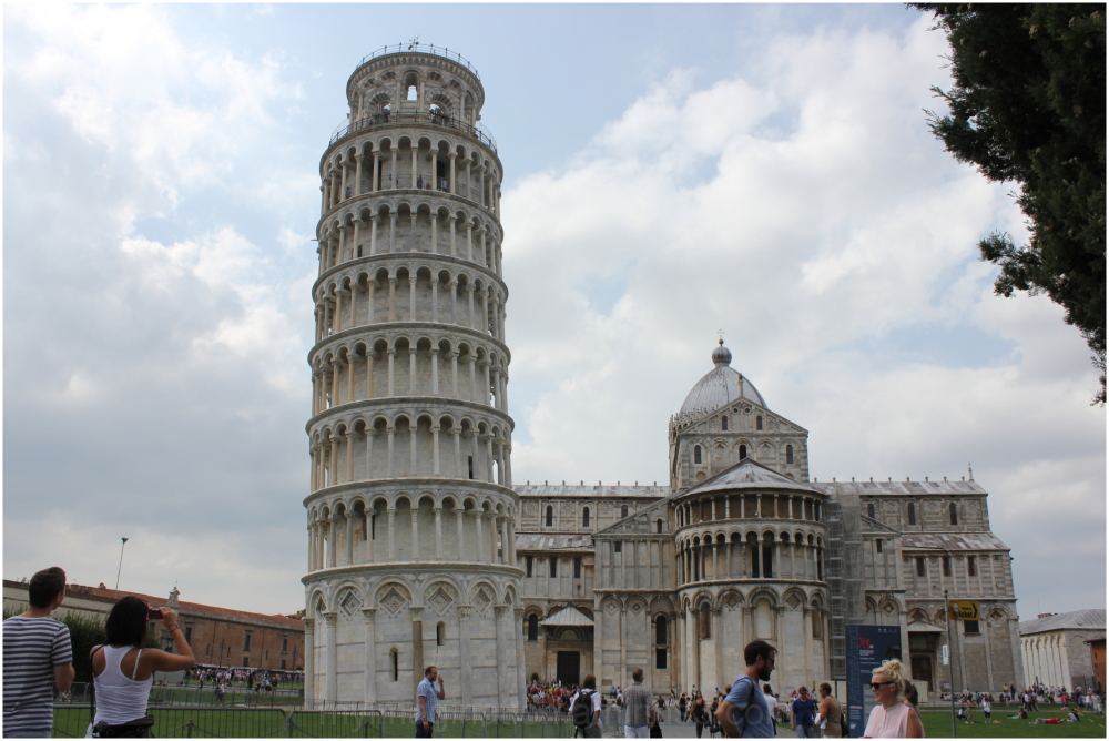 PISA (Peacefully Inclined Stunning Architecture)