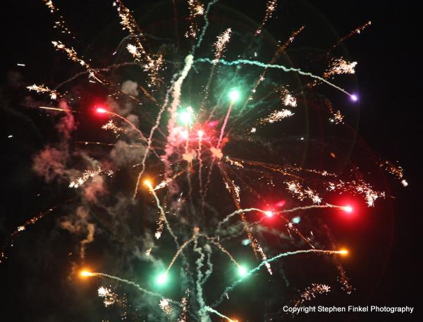 Fireworks = Colour