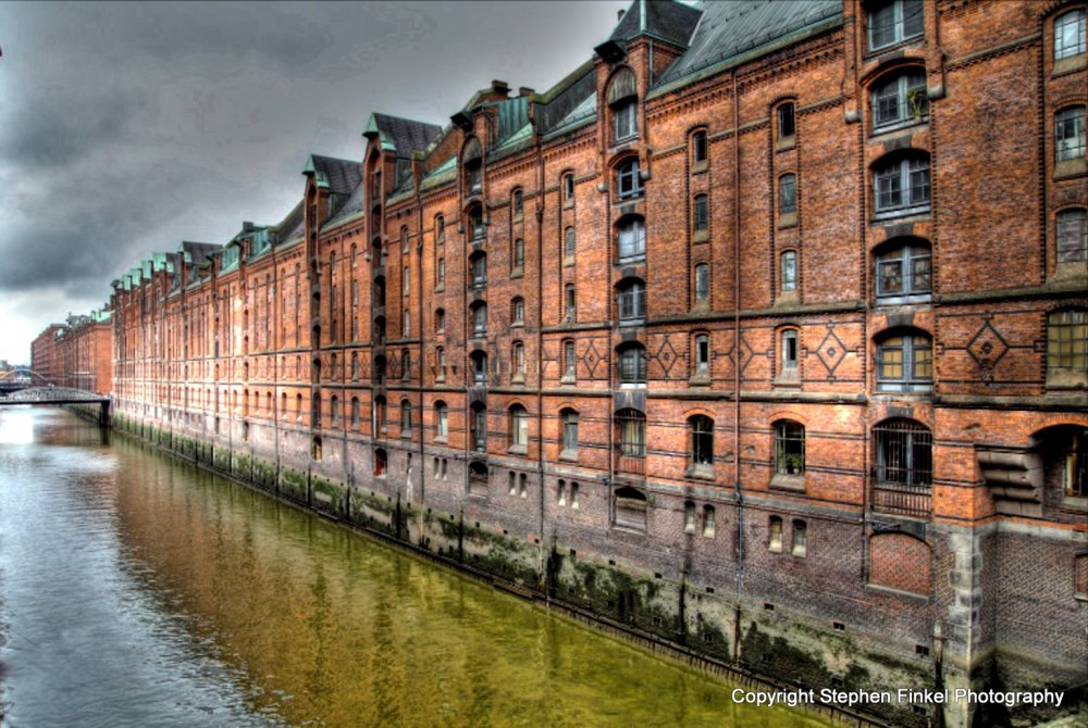 Dockland area Hamburg