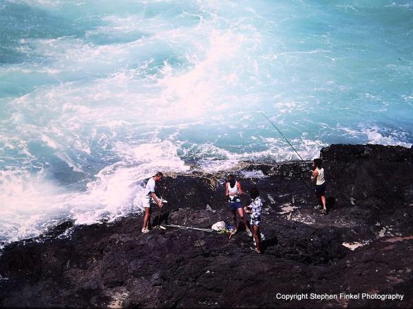 Rock Fishing 1980