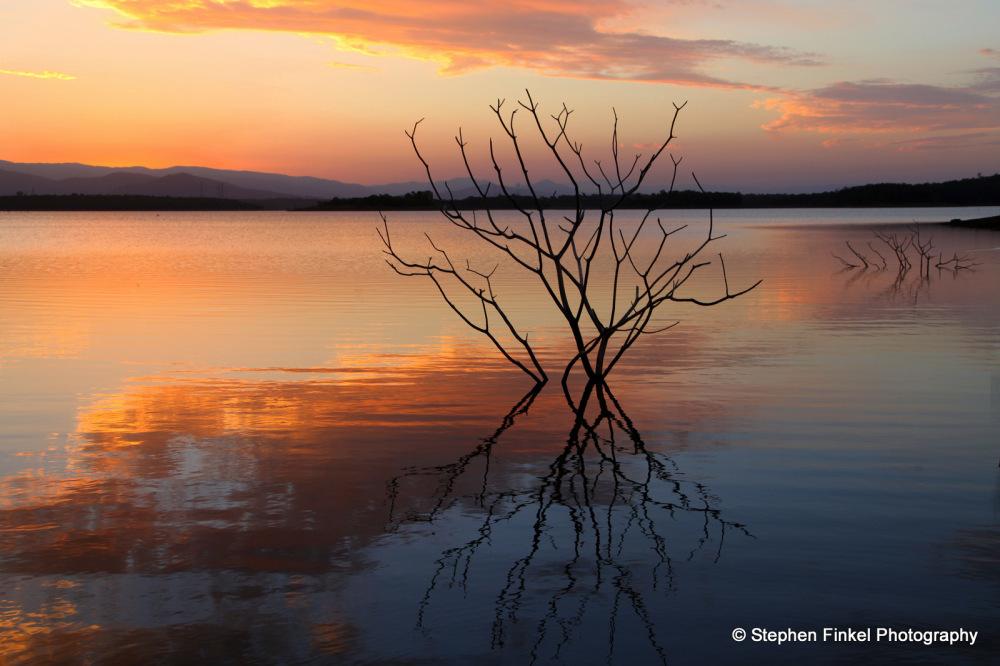 Sunset Time at the Lake