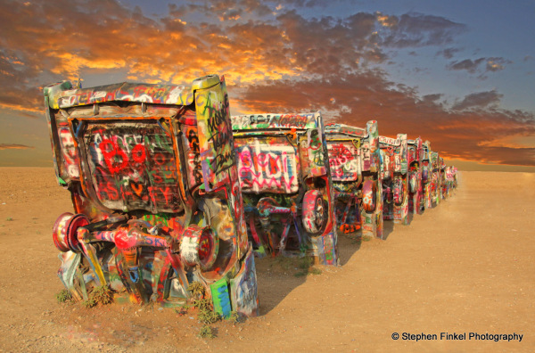 Aussie Twist on Cadillac Ranch