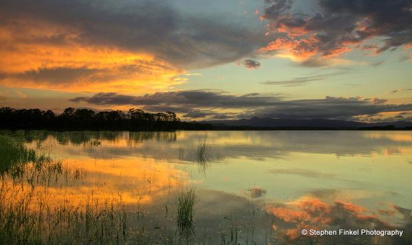 Sunset Lake Samsonvale Queensland Australia