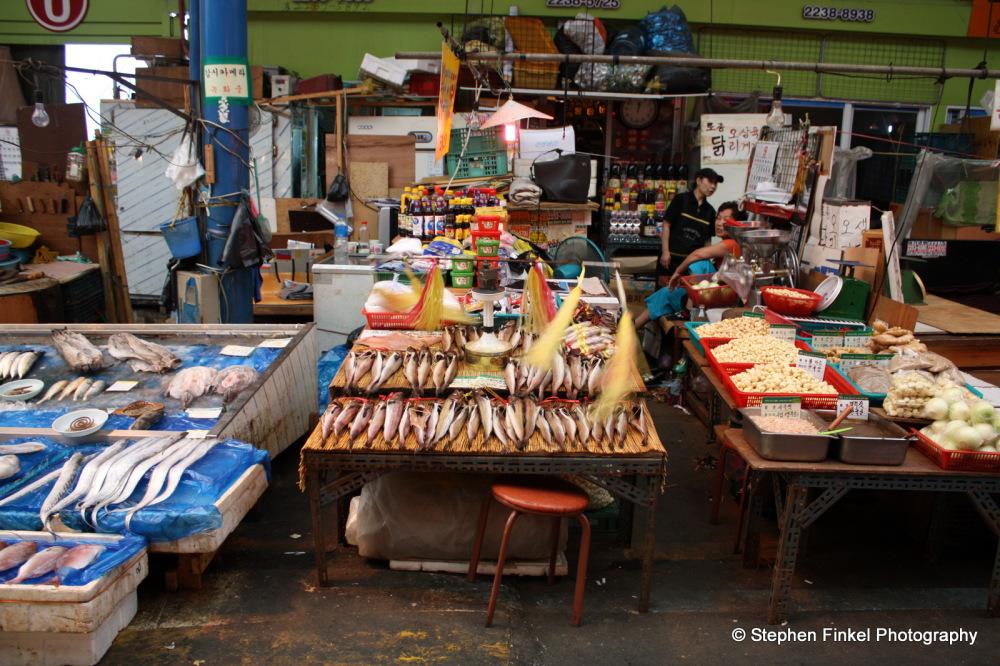 Seafood Market South Korea