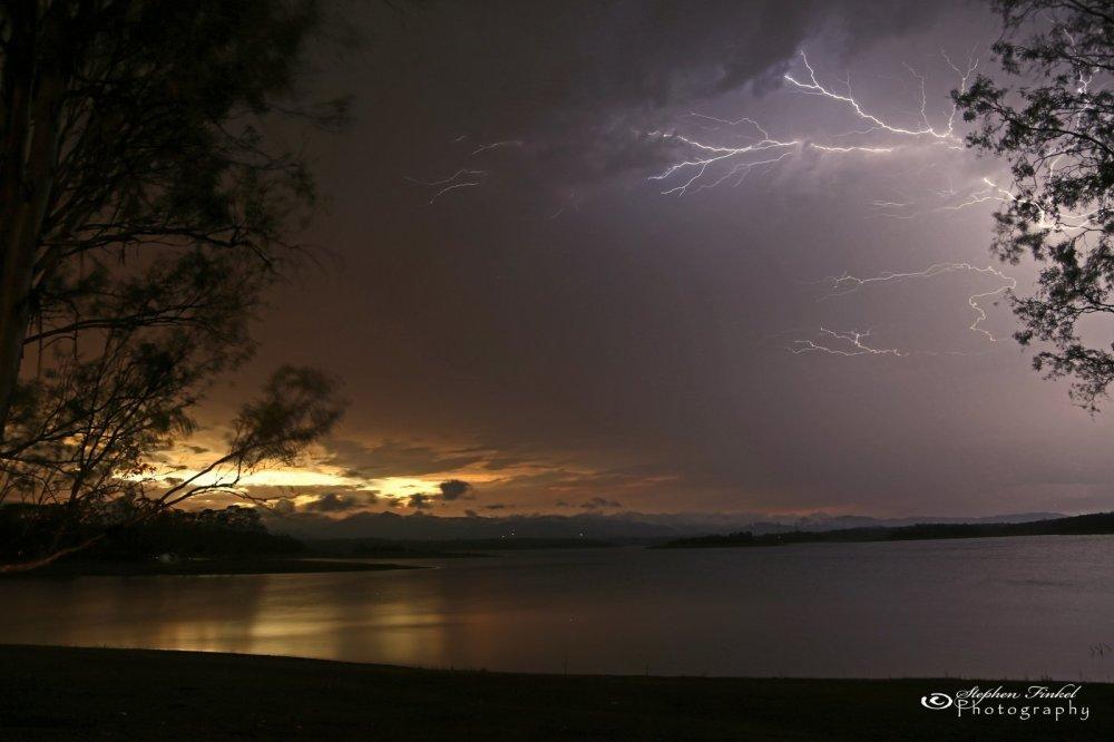 Lightning Sunset