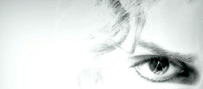 My eye ..
