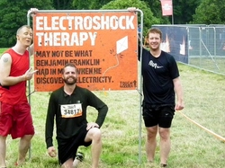 Tough Mudder - Electroshock Therapy !