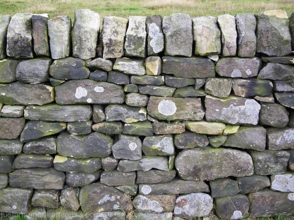 Drystone Wall - Froggatt Edge Derbyshire.
