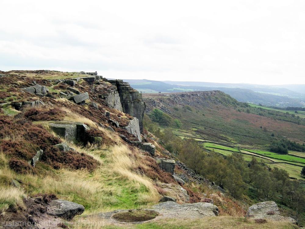 Derbyshire Froggatt Edge.