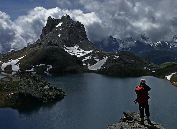Le lac du Roburent.............(Italie près de Lar