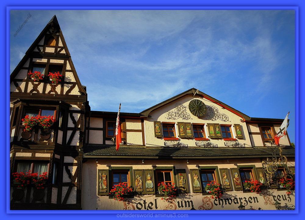 """Hotel """"Zum schwarzen Kreuz""""...."""