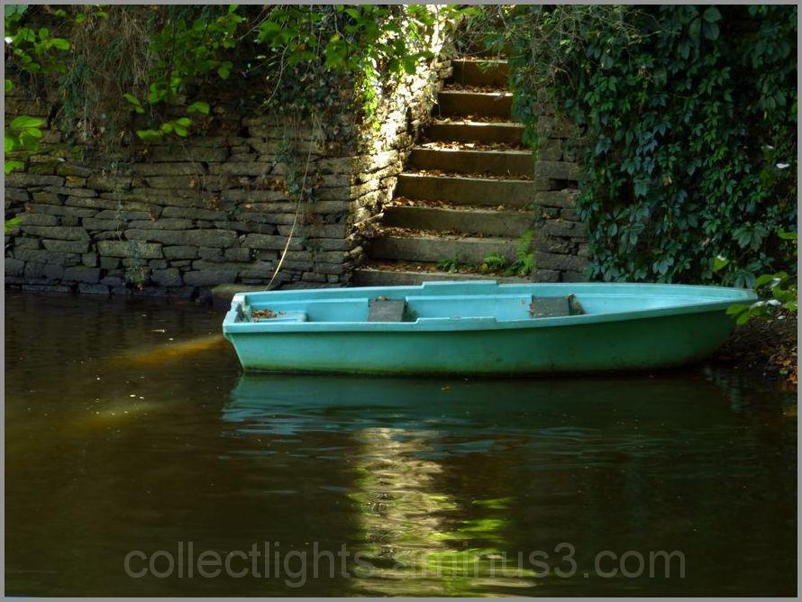 barque, escalier