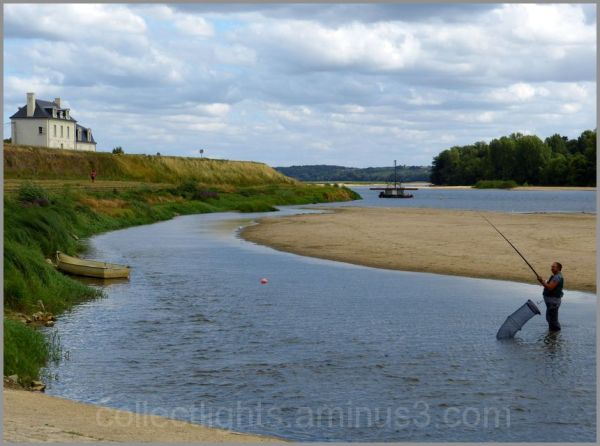 La pêche en bord de Loire...