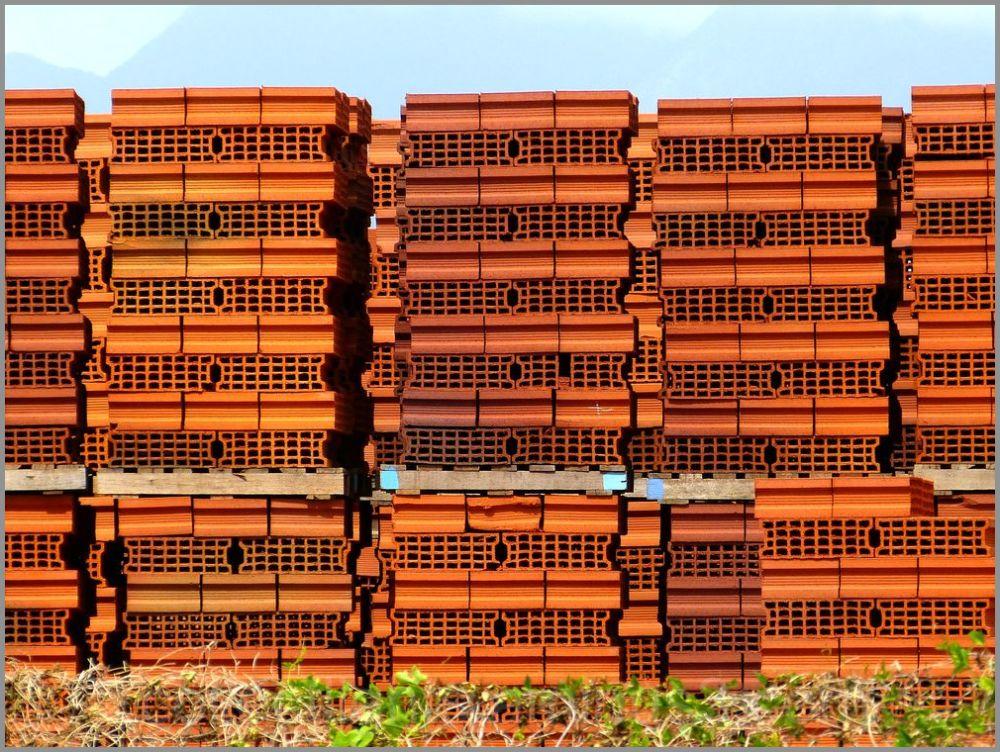 Mur paravent en briques