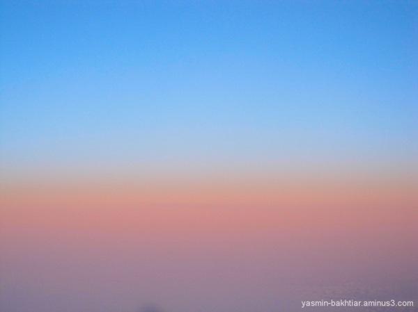 Sunset's border - Flight