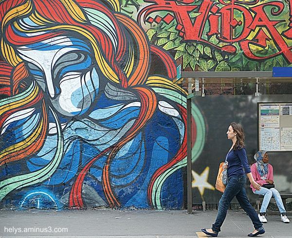Street art, Paris