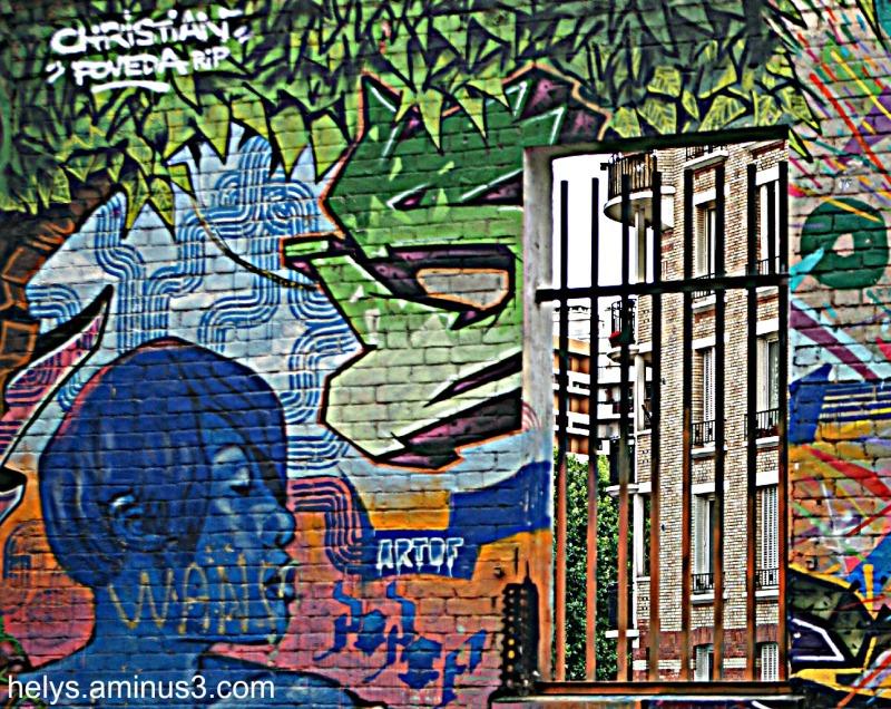 fen tre sur cour cityscape urban photos helys 39 s. Black Bedroom Furniture Sets. Home Design Ideas