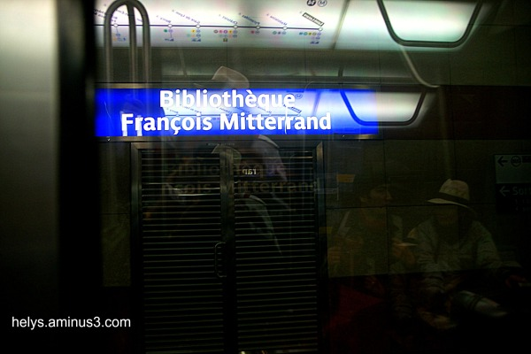 Paris: métro4