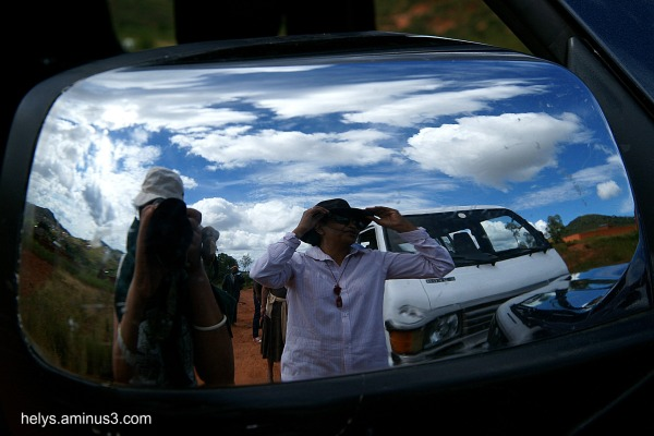 Madagascar island: countryside reflections