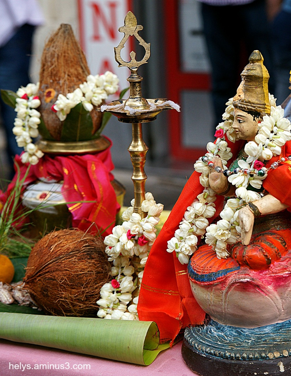 Ganesh party, Paris 2014: Traditions1