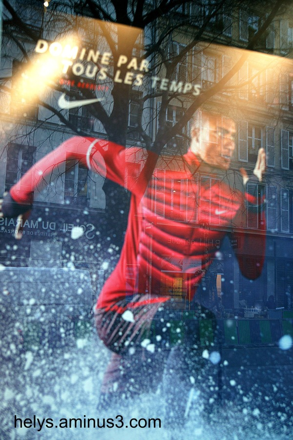 Nike Paris: To challenge the weather