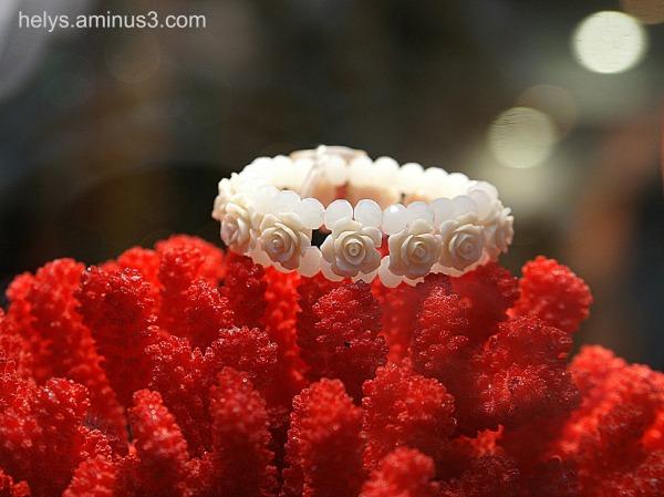 jewellery: coral