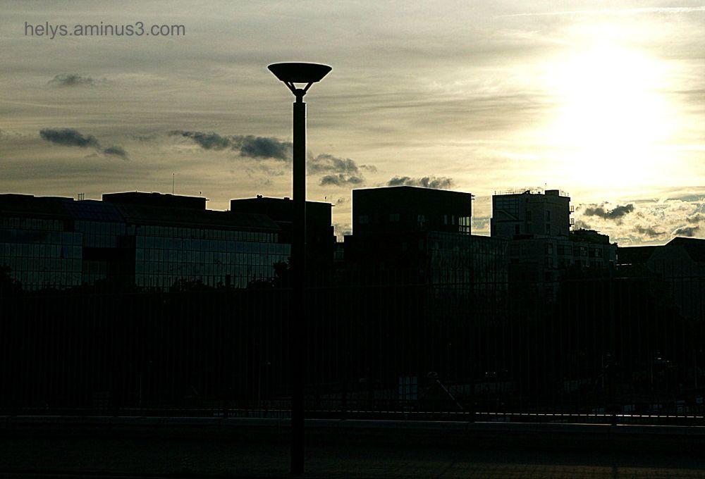 sunset in Paris13e/2
