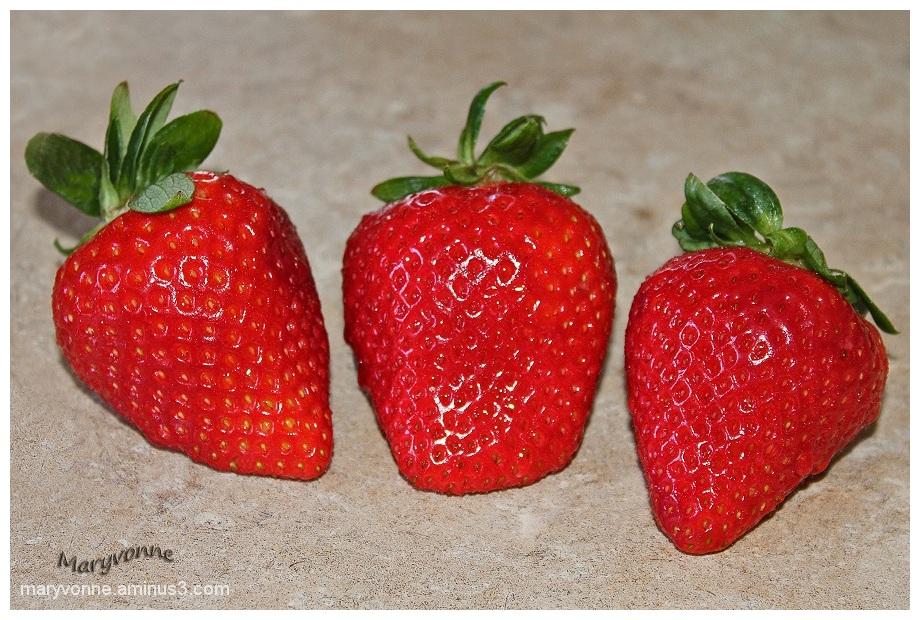Trio fraises