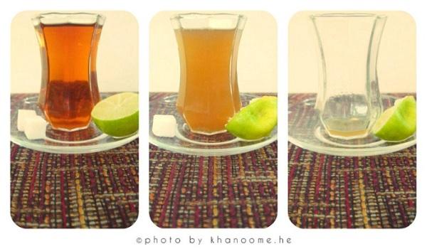 یک استکان چای مهمان من