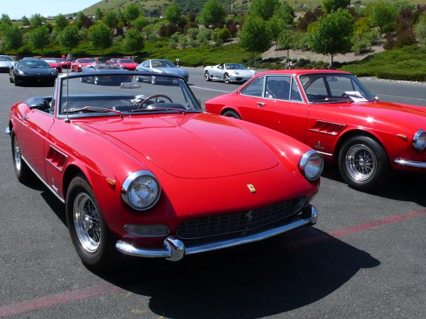 Ferrari 330 GTS and GT
