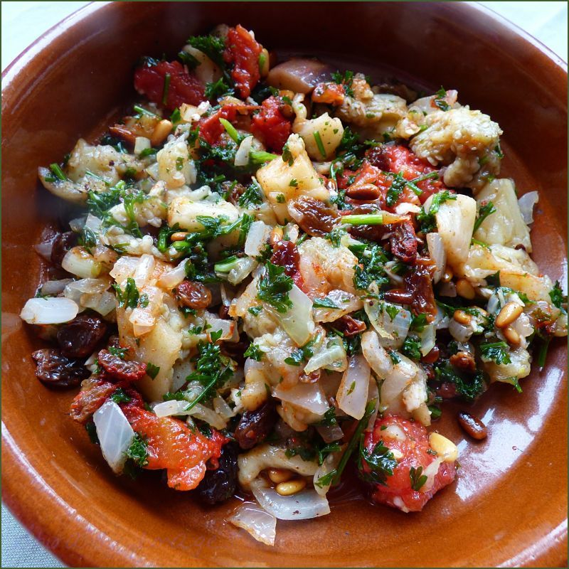Egggplant Salat