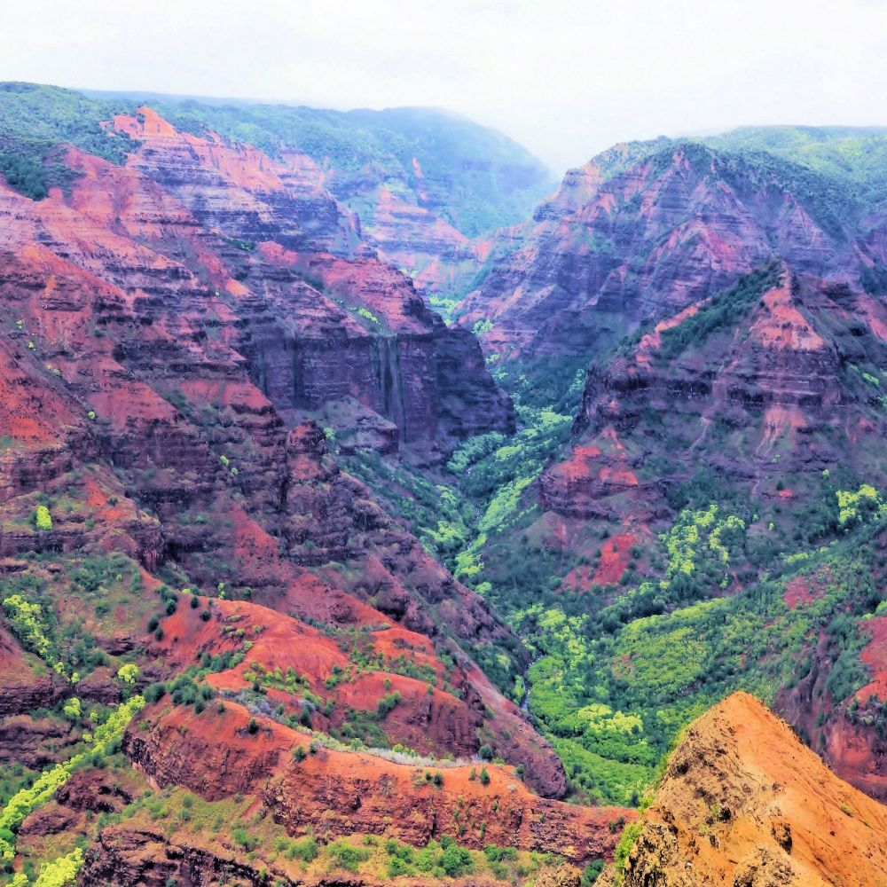 Kauai's 'Grand Canyon' in Hawaii
