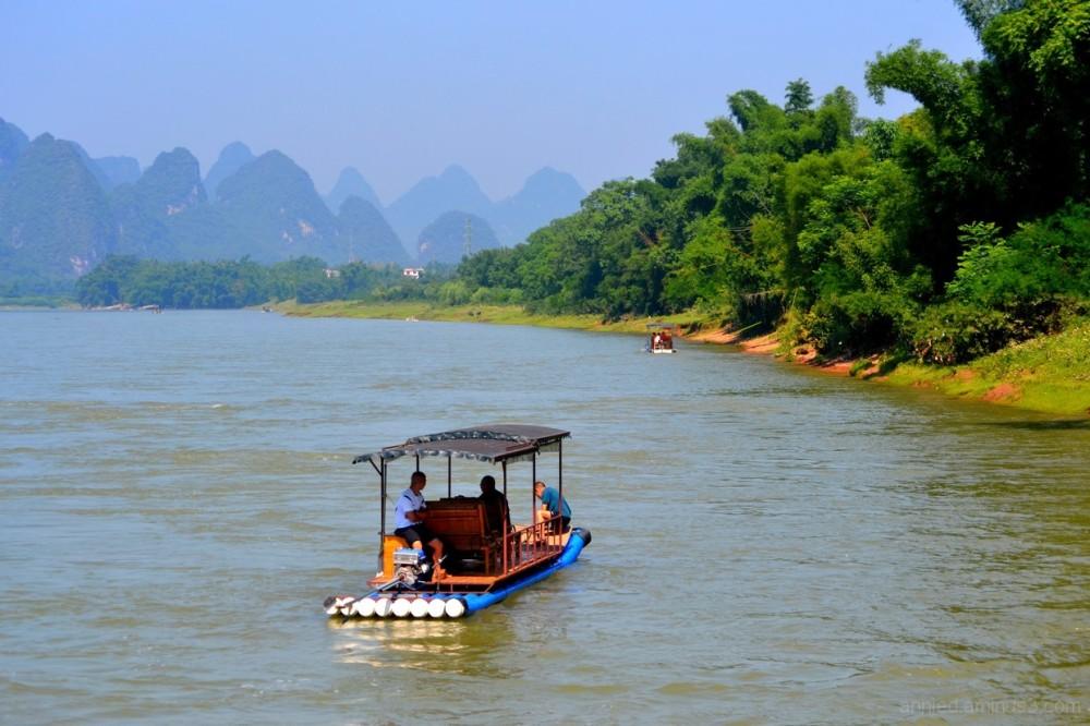 Sur la rivière Li (3)
