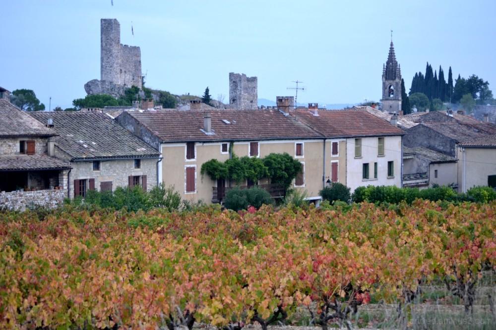 Village d'Aigueze (Gard)