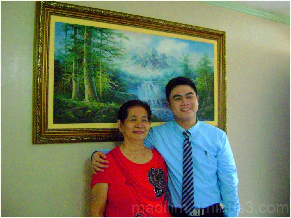 grandson and grandmom