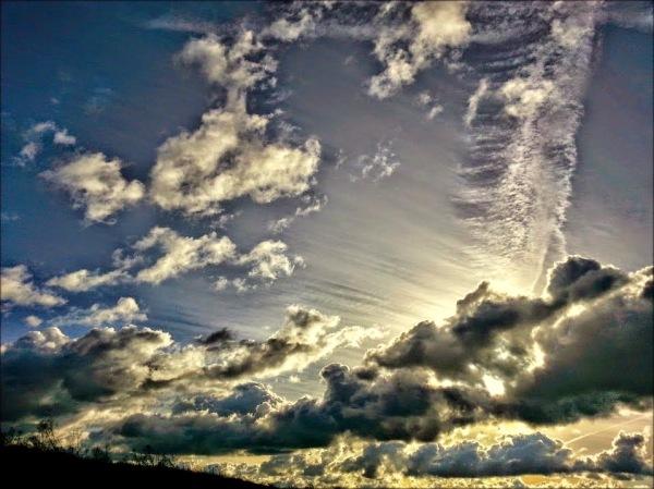 sinfonía de nubes