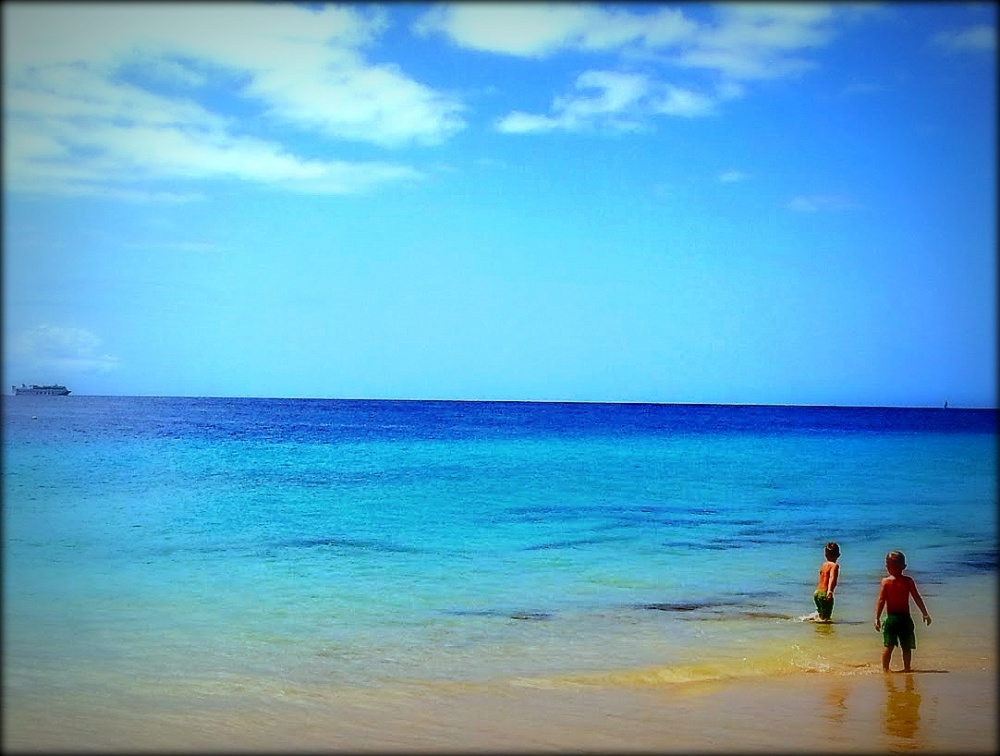 siempre la mar...