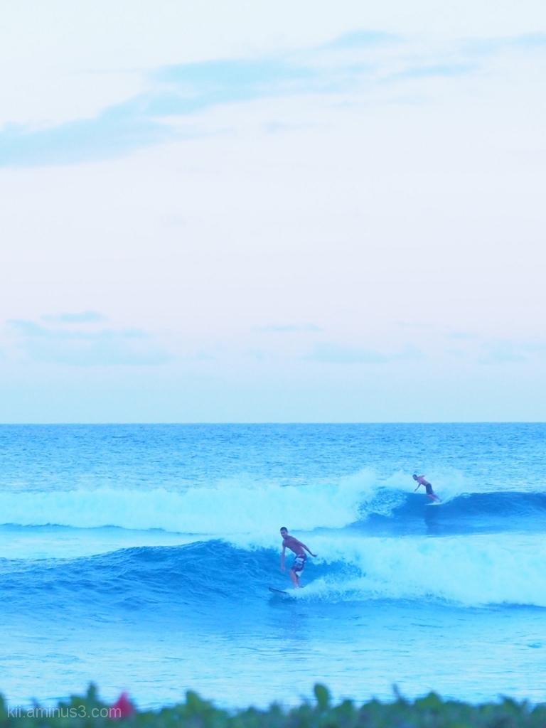 Surf in Kauai
