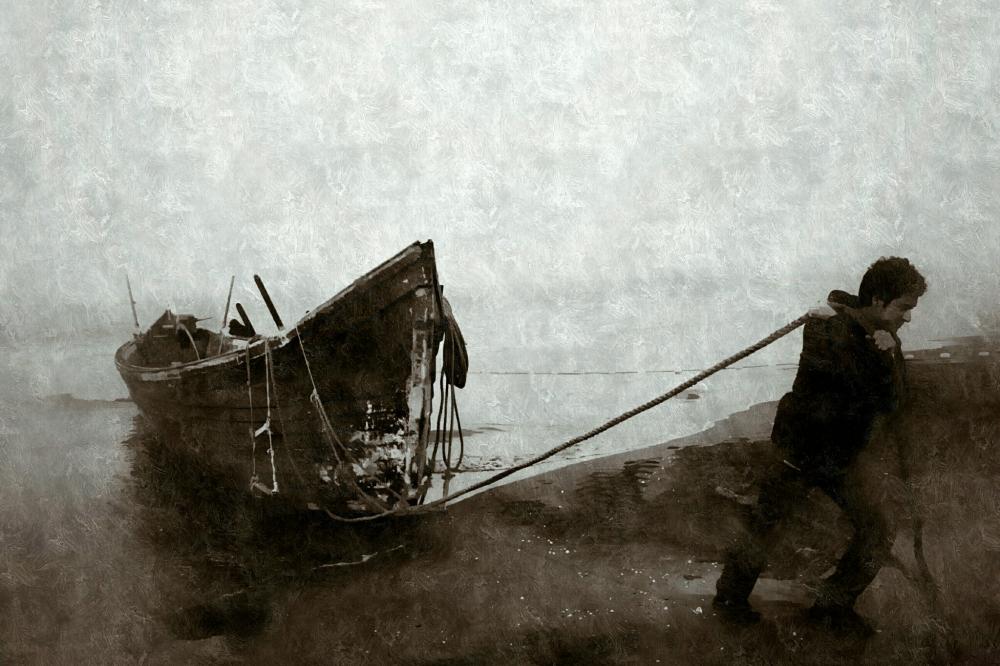 according to barge Haulers on the Volga