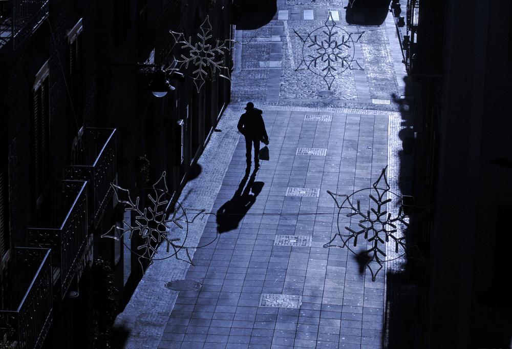 """Le promeneur au """"panettone"""""""
