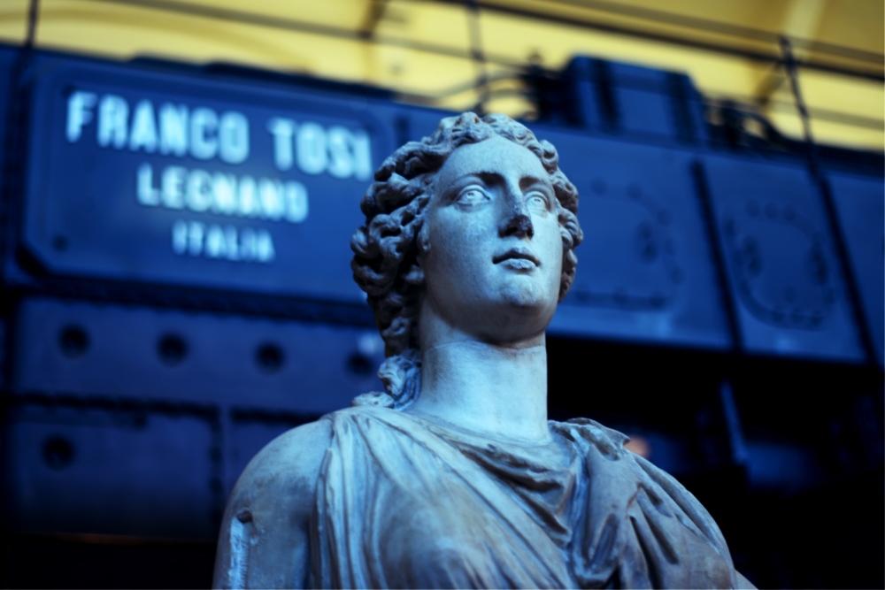 museo centrale Montemartini,Roma