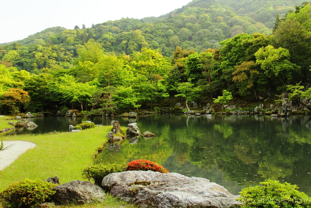 Garden of Tenruji Temple