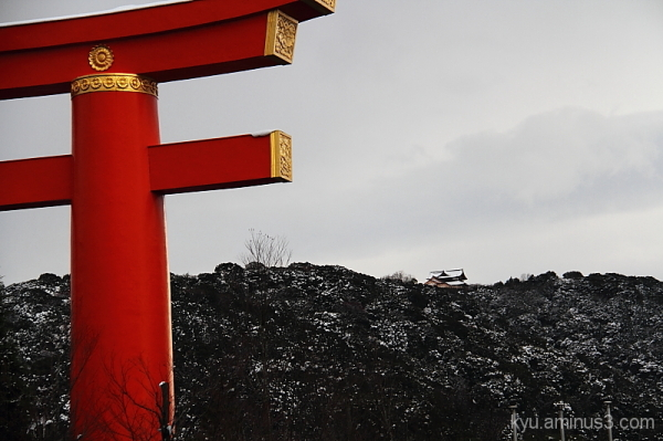 Winter view in Kyoto