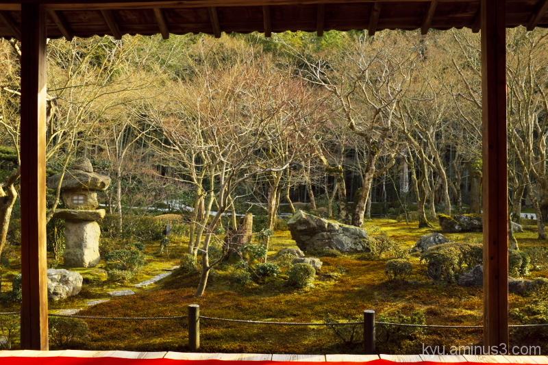 Garden in Enkouji