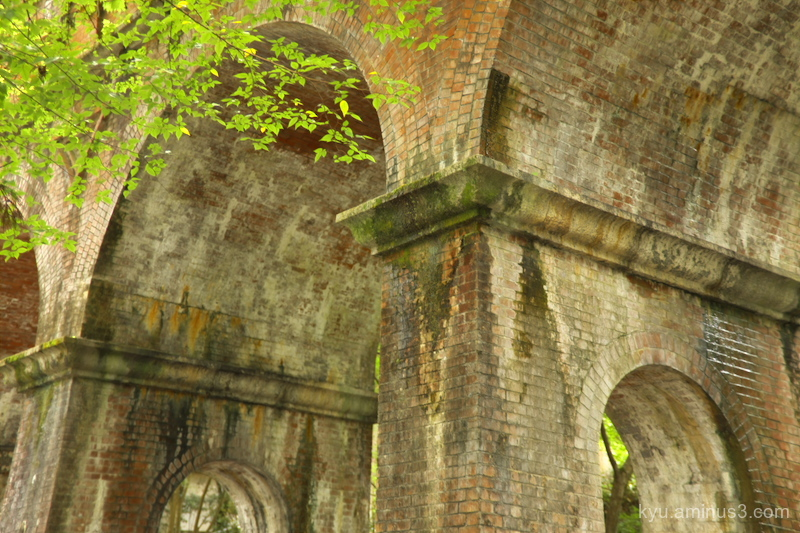 At the old aqueduct