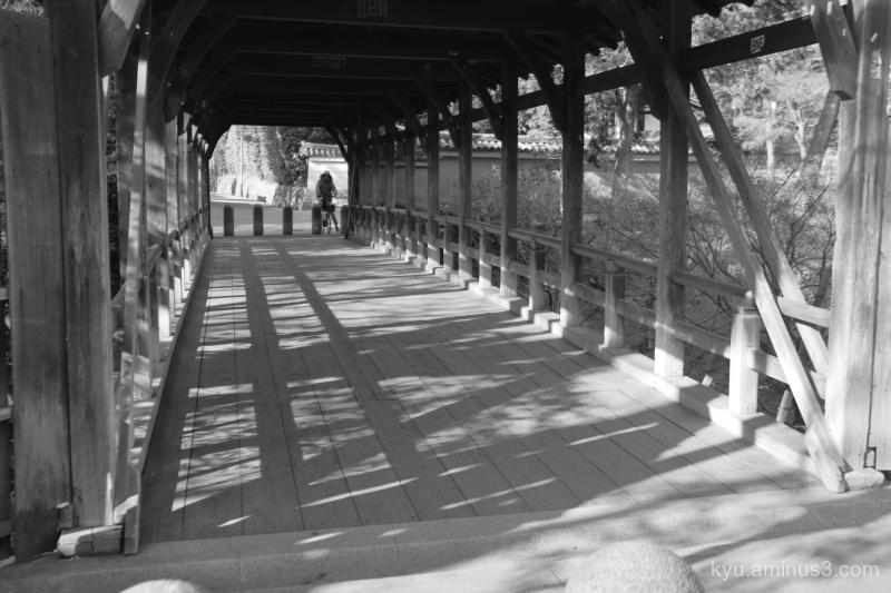 bridge Garyukyou Tofukuji temple kyoto Mono