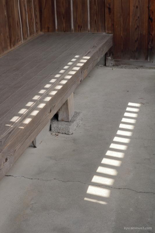 light-&-shadow parallel sunlight