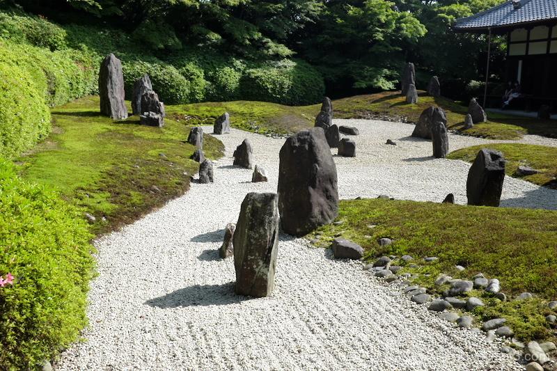 dry-landscape-garden Komyoin temple Kyoto