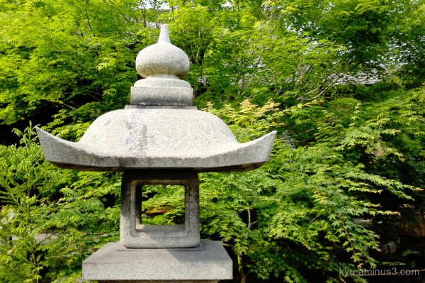 stone-lantern green-maple garden Shourinji temple